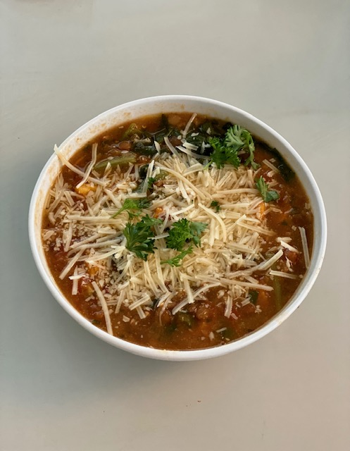 Lentil Soup with a Sweet Healthy Twist